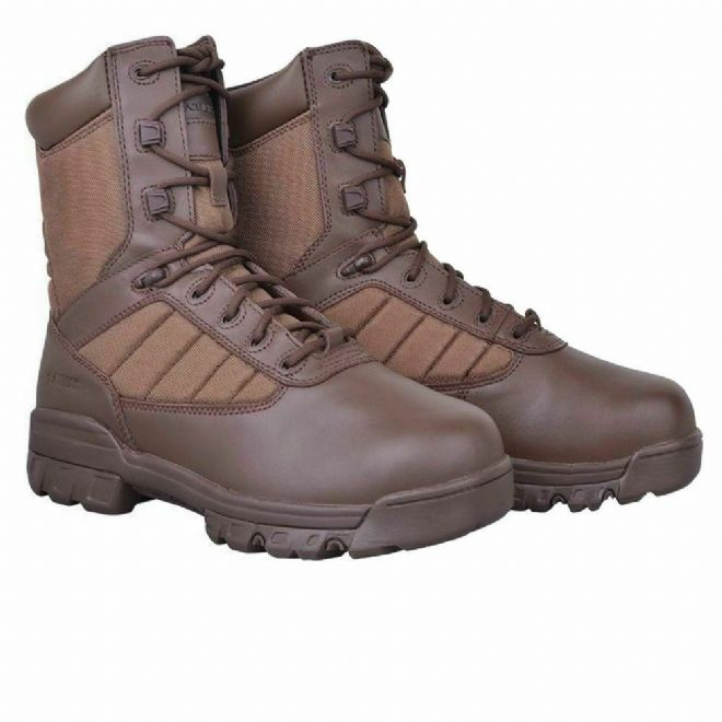 British Army Issue Bates Brown Breathable Leather Patrol Boots
